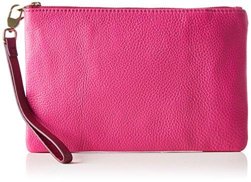 Fossil Damen Wristlets Geldbörse, Pink (Hot Pink), 14.22x0.64x21.92 cm
