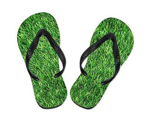 Flip Flop Gras - Schuhe / Slipper Badeschuhe Flip-Flop Badelatschen Badeschlappen Sandale Zehentrenner, Gr. 40-42