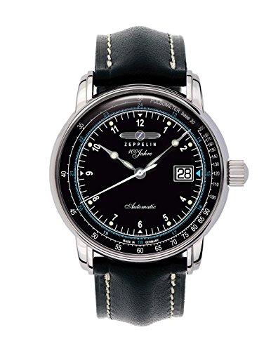 Zeppelin Watches - Reloj analógico automático para Hombre con Correa de Piel, Color...