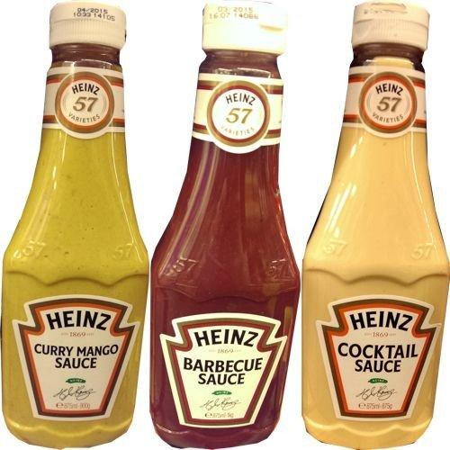 Heinz Gewürz-Sauce 57 Testpaket 3 x 875ml Flasche