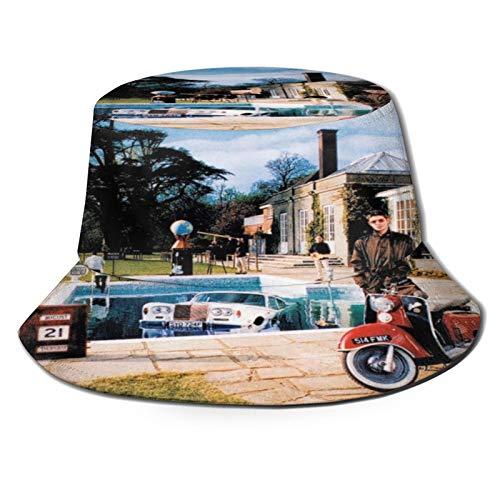 ZORIN Oasis Be Here Now - Cappelli unisex a secchio, tinta unita, per attività all'aria aperta Nero Etichettalia unica
