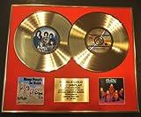 DEEP PURPLE/Zweifache Goldene Schallplatte