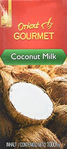 Orient GOURMET Kokosnussmilch - Cremige Milch mit typischem Kokosgeschmack - Authentisch thailändische Küche - 1 x 1000 ml