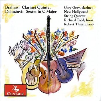 Brahms: Clarinet Quintet - Dohnanyi: Sextet