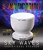 soundcandy Sky Waves Light Show Speaker - Bluetooth Speaker