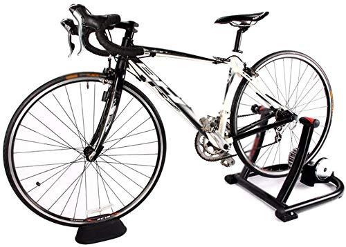 Indoor Fiets Oefening Stand - Fluid Bike Trainingstandaard Stationair Riding standondersteunt 135kg / 297Lbs, met voorwiel Riser Block