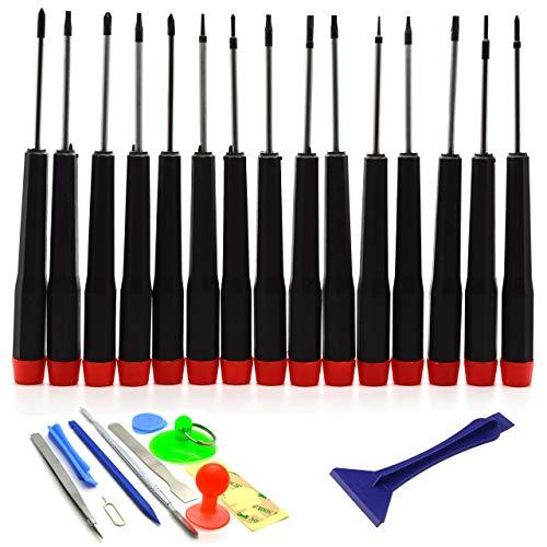 Preisvergleich Produktbild Acenix Universal-Reparaturset,  Schraubendreher- & Werkzeug-Set für MacBook Pro Air Retina,  27-teilig