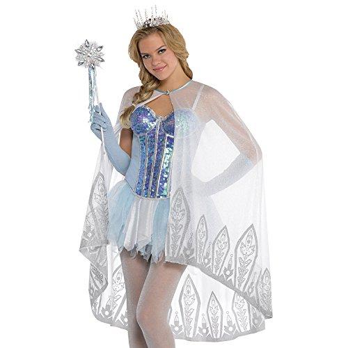 Umhang-Eiskönigin Kostümzubehör