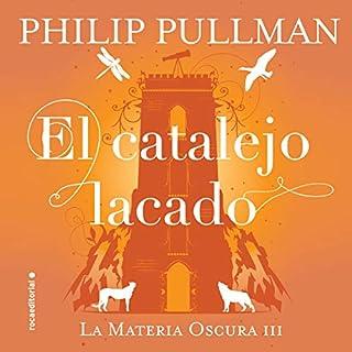 El catalejo lacado [The Amber Spyglass] cover art