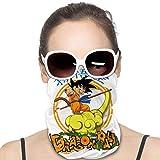 Feeling-Right Dragon Ball Neck Polaina Bandana Transpirable Pasamontañas Cubiertas...