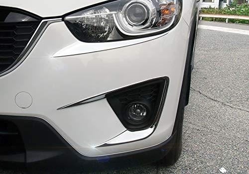 ABS Chrom Nebelscheinwerfer Lampe Verkleidung 2 Für CX-5 2012-2016