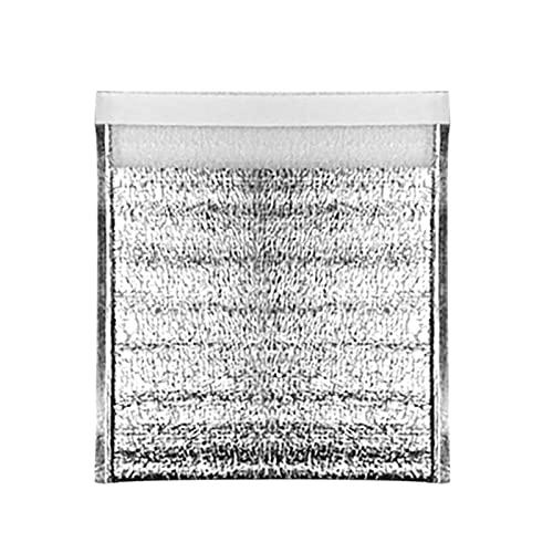 Sailsbury 5/10 bolsas desechables de aislamiento térmico / calcio con bolsas de alimentos impermeables de papel de aluminio, bolsas de picnic.