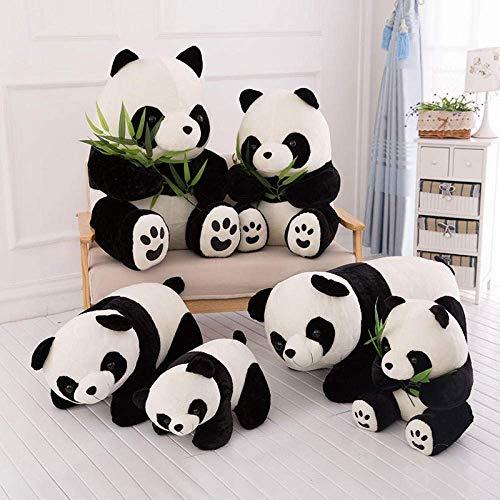 Panda géant en Peluche Panda Bambou Ours de Portefeuille (Couleur: Panda, Taille: 20 cm) WKY (Color : Bamboo Bear, Size : 40 cm)