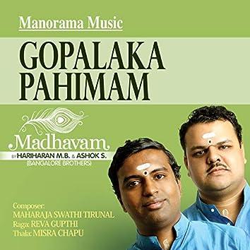 """Gopalaka Pahimam (From """"Madhavam)"""