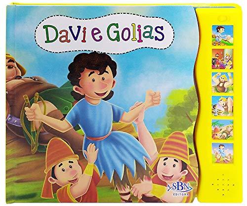 Livro sonoro - Histórias da Bíblia: Davi e Golias