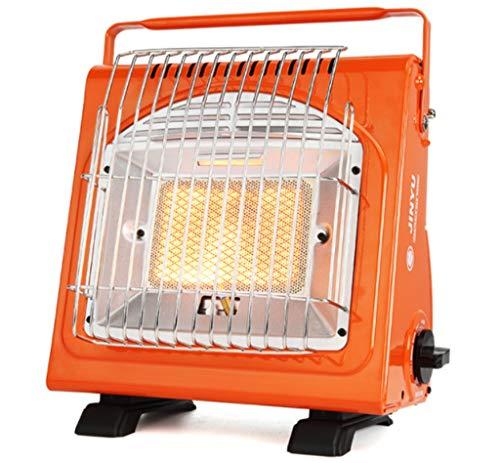 WYYW Calentador De Gas Portátil, 1.7Kw Calentador De Espacios Estufa Que Acampa De Múltiples Funciones del Butano Calefacción Gabinete para Acampar Al Aire Libre, Coches, Calefacción Jardín