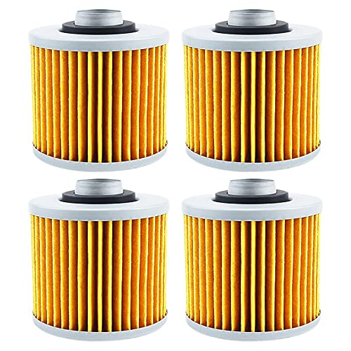 Replacement Part for 1 2 4 Pcs shopping Super sale Oil Filter Yamaha Motorcycle