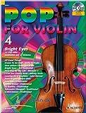 Pop for Violin 4 - Bright Eyes - Violine Noten [Musiknoten]