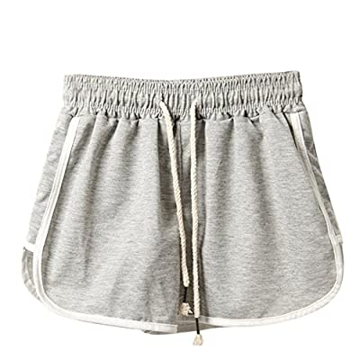2019 Fashion!Women New Hot Pants Summer Floral Shorts High Waist Short Pants Trousers Gray by