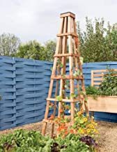 Gardener's Supply Company CedarLast Obelisk, 7-6