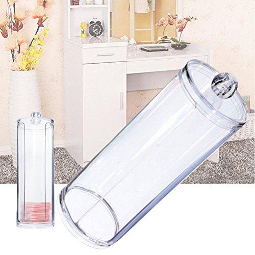 Frcolor Boite de maquillage Cotton Swab organisateur, ouate acrylique et écouvillon titulaire
