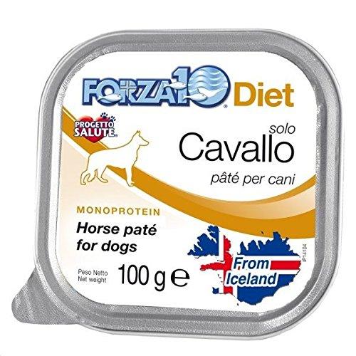 Cibo umido monoproteico per cani Forza 10 Diet 100 gr - Agnello- 10 pezzi