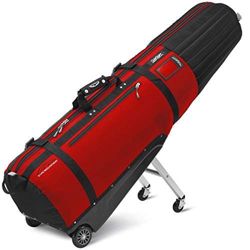 Sun Mountain Clubglider Meridian Travel Bag, Black/Red