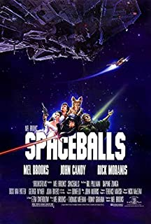 Spaceballs Movie POSTER 27 x 40, Mel Brooks, John Candy, Rick Moranis, A, MADE IN THE U.S.A.
