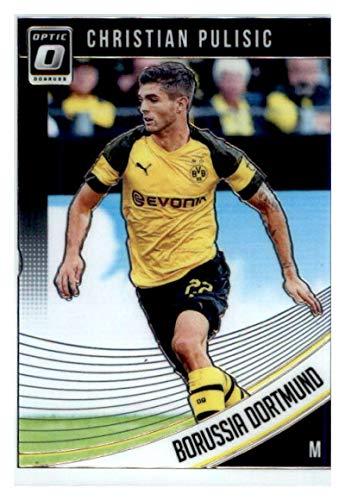 2018-19 Donruss Optic #66 Christian Pulisic Borussia Dortmund Soccer Card