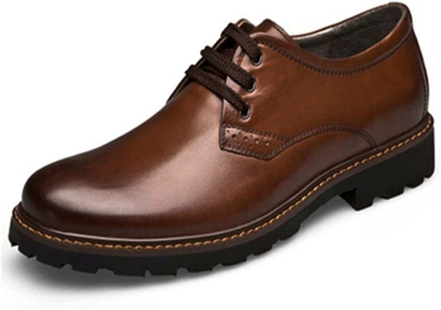 Men's Oxford Casual Comfort OX Leather Lace Up Classic Leisure shoes Cricket shoes