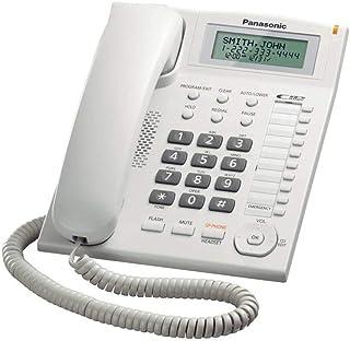 Panasonic KX-TS880 Integrated Corded Telephone, White
