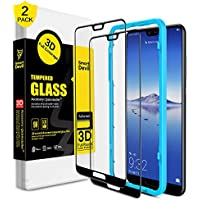 SmartDevil [2 Pack Protector Pantalla de Huawei P20,Cristal Templado Huawei P20,Vidrio Templado [Fácil de Instalar] [3D Borde Redondo] [Garantía de por Vida] para Huawei P20