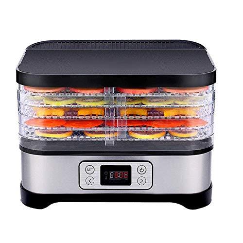 Lowest Price! HIZLJJ Food Dehydrator Machine Professional Electric Multi-Tier Food Preserver, Meat o...