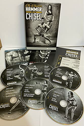 Beachbody Hammer and Chisel Resistance Training Workout Fitness DVD...