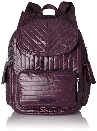 Kipling Damen CITY PACK - S Rucksack, Violett (Aubergine), 27x33.5x19 cm