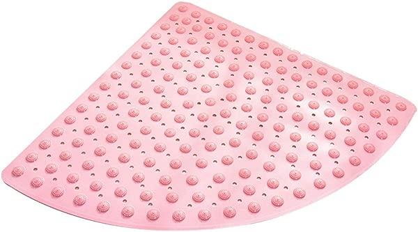 Bath Mat Kids Bath Rugs Bath Mat Rug Sector Carpet Large Non Slip Mat Bathroom Bathing Foot Pad WC Household Shower Room Cushion WEIYV Color Pink Size 7070cm