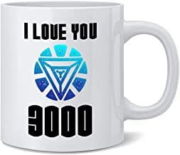 Poster Foundry I Love You 3000 Famous Motivational Inspirational Quote Coffee Mug Tea Cup 12 oz