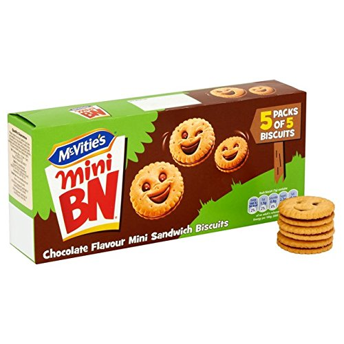 Mini BN de chocolat McVitie 5 x 5 par paquet
