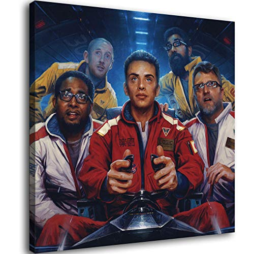 Logic The Incredible True Story Music Album Cover Canvas Art Poster and Wall Art Picture Print Modern Family Bedroom Decor Posters