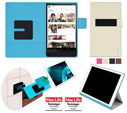 reboon Hülle für Dell Venue 8 7000 Tasche Cover Case Bumper | in Beige | Testsieger