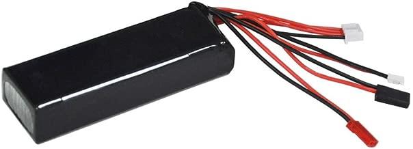 Jungles 11.1V 2200mAh Lipo RC Battery Rechargeable for Walkera DEVO 7 10 F12E/JR Futaba Transmitter RC