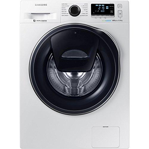 Samsung WW80K6610QW AddWash/EcoBubble 8kg 1600rpm Freestanding Washing Machine-White