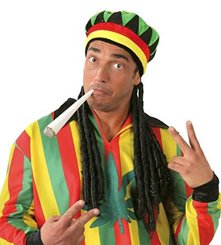 Fiestas Guirca Bonnet jamaicana avec Tresses