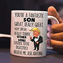 Family Son You're A Fantastic Trump Funny Coffee Mug