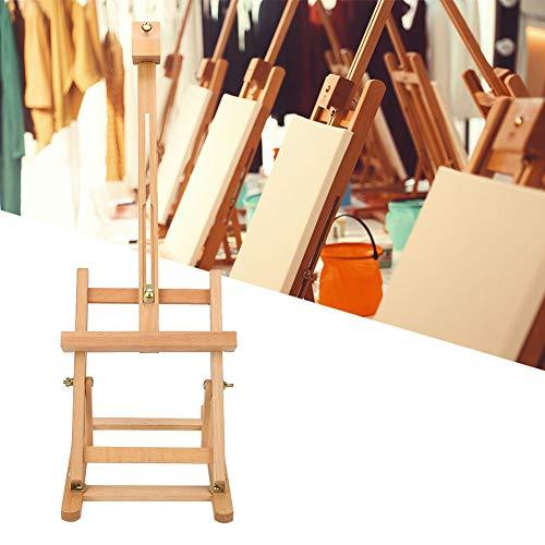 Caballete para pintura de mesa, caballete plegable de madera multifunción, altura de inclinación ajustable para pintura portátil, Caballete de tamaño pequeño para niños