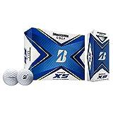 【US仕様】ブリヂストンゴルフ ゴルフボール TOUR B XS【ホワイト】 [並行輸入品]