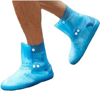 Équipement de sortie Épais chaussures imperméables imperméables résistant à l'usure couvrent des bottes de pluie hommes et...