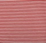 Jerseystoff rot-weiss   1,60 Meter breit   wird in 0,1