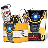 Official Borderlands LookSee Collector Mystery Gift Box - Includes Claptrap Blanket, Lanyard, Water Bottle, and More - Exclusive Fan Toy Collectible Set | Licensed Merchandise