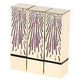 F Fityle 3pcs Tubos de Bálsamo Labial Vacíos Botellas de Cosméticos de Tubo de Lápiz Labial de Bricolaje - Fuegos artificiales de oro